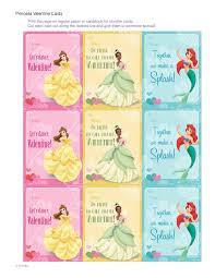 disney princess valentine cards disney family