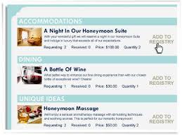 honeymoons registry frosch vacations