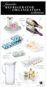 top 9 refrigerator organization solutions and an organized fridge