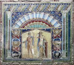 bodenbelã ge fã r balkon ein mosaik für den segen der götter