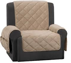 slipcover for recliner sofa sure fit recliner furniture cover with textured pique fabric
