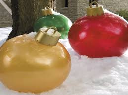 big ornaments outdoor large outdoor lighted