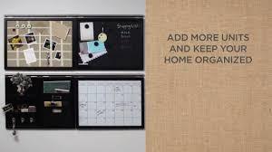 Wall Calendar Organizer Diy Tutorial How To Mount Pb U0027s Daily System Pottery Barn Youtube