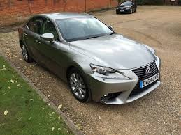 lexus used uk used lexus is 300h executive edition silver 0 0 4 door saloon