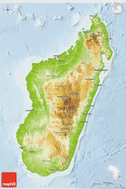 Madagascar Blank Map by Physical 3d Map Of Madagascar Lighten