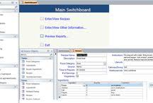microsoft access templates and database accesstemplates on pinterest