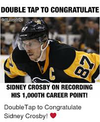 Sidney Crosby Memes - double tap to congratulate news daily1 ccm sidney crosby on