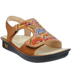 Comfort Sandals For Ladies Alegria Women U0027s Shoes Sandals Boots U0026 More U2014 Qvc Com