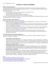 weak thesis statement example thesis statements for essays thesis