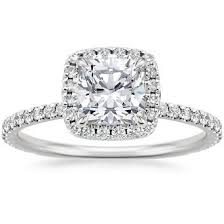 cushion diamond ring cushion cut engagement rings brilliant earth