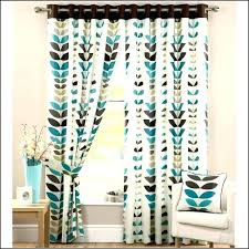 White And Brown Curtains Teal Curtains Brown And Teal Curtains Beautiful White And Teal
