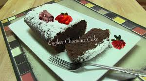 easy chocolate cake recipe video no egg no dairy by bhavna