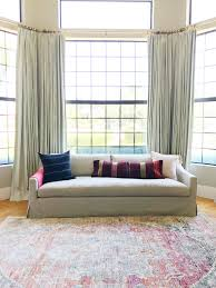 how to style pillows on your sofa little green notebook