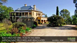 restored victorian manor on 2 acres property for sale inverell