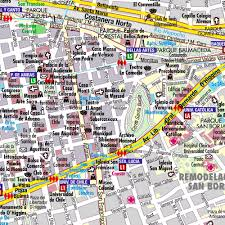 Santiago Metro Map by Map Of Santiago Chile