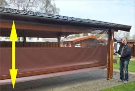 28 Ideen Fur Terrassengestaltung Dach Balkon Windschutz Transparent Home Design Inspiration Und
