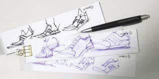 adidas sneaker ball point pen design sketching the design