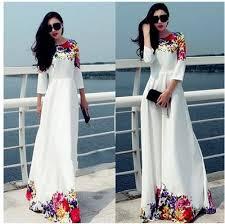 fashion women long sleeve dress evening party long dress