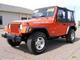 orange jeep wrangler 2006 impact orange jeep wrangler x 4x4 27544832 gtcarlot com