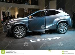 lexus lf nx suv lexus lf nx concept editorial stock photo image 33585808
