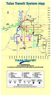tulsa airport map transit tulsa
