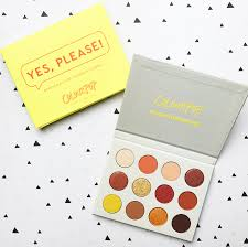 Yellow Swatches Colourpop Yes Please Eyeshadow Palette Review And Swatches