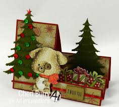 308 best cards christmas art impressions images on pinterest