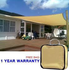 amazon com quictent 20 x 16 ft rectangle sun sail shade canopy