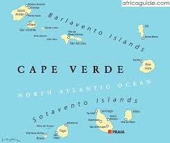 cape verde map world cape verde cabo verde travel guide and country information