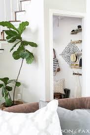 how to turn a closet into a mudroom maison de pax