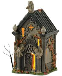 halloween collectables department 56 halloween village collection haunted crypt
