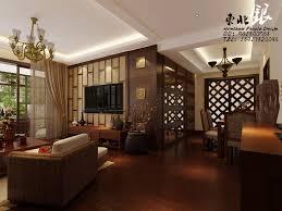 Japanese Style Living Room Furniture Wooden Shelves In The Nearby Living Room Living Room Japanese Furniture Orange Rug Under