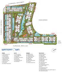 condo layout watertown condo singapore site layout plan apartment