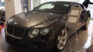 black bentley interior 2017 bentley continental gt speed exterior and interior review
