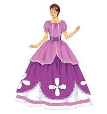 Disney Halloween Costume Patterns Butterick B6113 Misses U0027 Girls U0027 Costume Sofia Kid