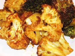 cuisiner choux choux fleurs rôtis au four les recettes de virginie