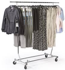 amazon com tube steel rolling clothes rack adjustable and