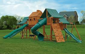 Wooden Swing Set Canopy by Multi Deck Imagination Jungle Gym Plans Eastern Jungle Gym