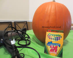 Pumpkin Decorating Without Carving Pumpkin Decorating Without Carving Melted Crayon Art And Painting