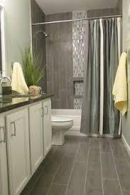 Small Bathroom Curtain Ideas Colors Love The Moulding Hiding The Curtain Rod Color Scheme For Main