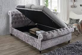 Birlea Ottoman 6ft Superking Ottoman Bed Steel