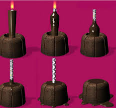 edible candle are you going to eat that chair yes and my pencil is cheese and