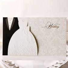 Empty Wedding Invitation Cards Flower Wedding Card Message To Bride And Groom And Wedding