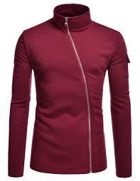 mens lightweight cycling jacket nklcj712 thelees mens lightweight turtleneck unbalanced zip up