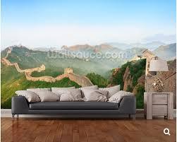 Couch F Esszimmer Kundenspezifische Natürliche Tapete Great Wall Von China