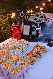 4 steps to hosting an outdoor movie night by nibblesandfeasts com