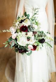 wedding flowers greenery seasonal bouquets for a fall wedding brides
