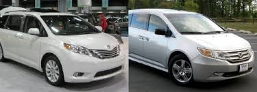 honda odyssey toyota honda odyssey vs toyota which is better for families