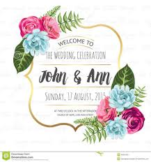 attractive wedding invitation samples using modern concept