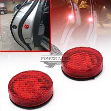 car door opening led warning lights strobe light